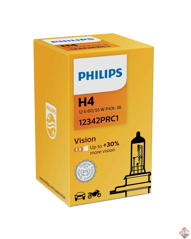 لامپ خودرو h4 فیلیپس