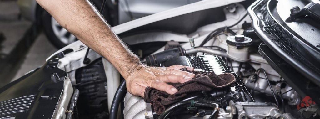شستشوی موتور خودرو
